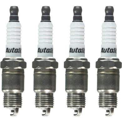 Autolite 24-4PK Copper Resistor Spark Plug, Pack of 4