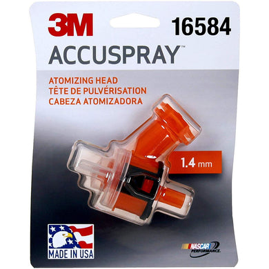 3M 16584 Orange Accuspray Atomizing Head (1 atomizing heads per each, 1.4 mm)