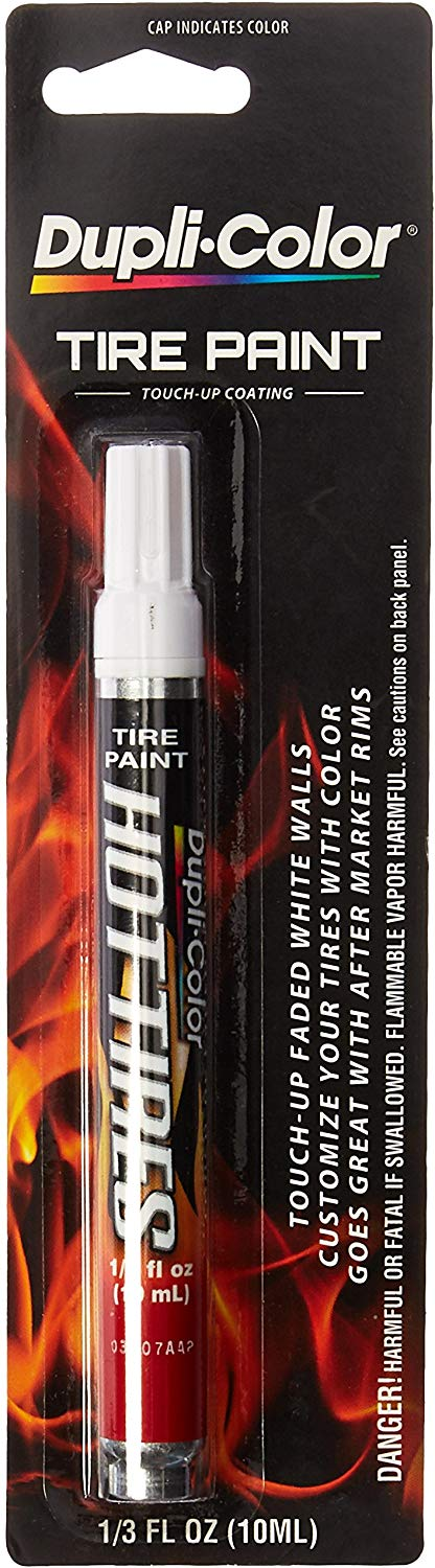 Dupli-Color HT100 White Hot Tire Paint Pin - 1/3 oz