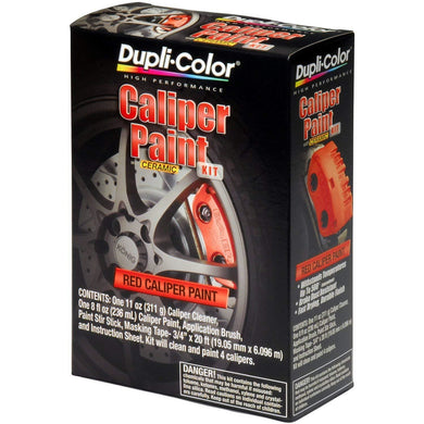Dupli-Color BCP400 Red Single Brake Caliper Kit