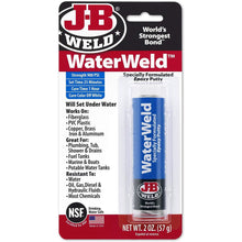 Load image into Gallery viewer, J-B Weld 8277 WaterWeld Epoxy Putty Stick - 2 oz.