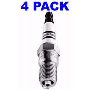 Champion 828M Pack of 4 Copper Marine Spark Plugs (QL77JC4)