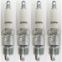 Load image into Gallery viewer, Champion Copper Plus Spark Plug 25 RV17YC Pack of 4