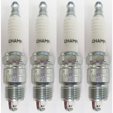 Champion Copper Plus Spark Plug 25 RV17YC Pack of 4