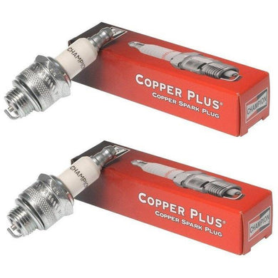 Champion QC12YC-2pk Copper Plus Small Engine Spark Plug Stock # 946 (2 Pack)