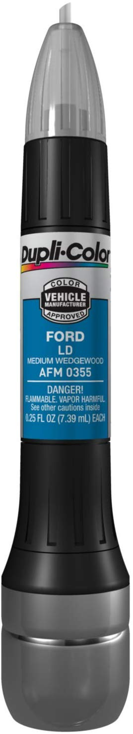Dupli-Color AFM0355 Medium Wedgewood Ford Exact-Match Scratch Fix All-in-1 Touch-Up Paint - 0.5 oz.
