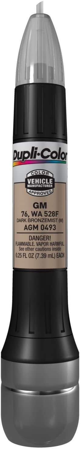 Dupli-Color AGM0493 Metallic Dark Bronze mist General Motors Exact-Match Scratch Fix All-in-1 Touch-Up Paint - 0.5 oz.