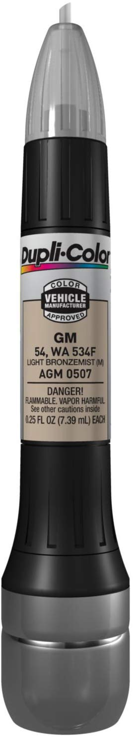 Dupli-Color AGM0507 Light Bronze mist General Motors Exact-Match Scratch Fix All-in-1 Touch-Up Paint - 0.5 oz.