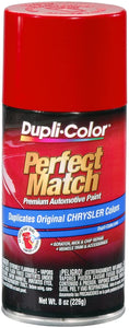 Dupli-Color BCC0351 Flash Red Chrysler Perfect Match Automotive Paint-Aerosol, 8. oz - Pack of 1