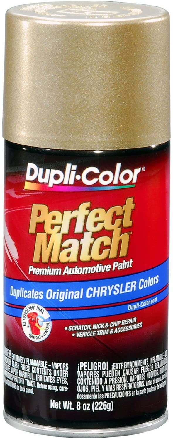 Dupli-Color BCC0383 Light Champagne Metallic Chrysler Perfect Match Automotive Paint - 8 oz. Aerosol