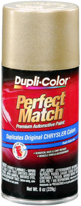 Dupli-Color BCC0401 Champagne E7 Pearl Chrysler Perfect Match Automotive Paint - Aerosol, 8. Fluid_Ounces