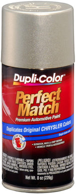 Dupli-Color BCC0402 Driftwood Satin Metallic Chrysler Perfect Match Automotive Paint - 8 oz. Aerosol