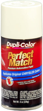 Dupli-Color BCC0407 Stone White E7 Chrysler Perfect Match Automotive Paint-Aerosol, 8. Fluid_Ounces