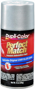 Dupli-Color BCC0410 Bright Silver Metallic Chrysler Perfect Match Automotive Paint - 8 oz. Aerosol