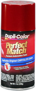 Dupli-Color BCC0412 Inferno Red Metallic Chrysler Perfect Match Automotive Paint - 8 oz. Aerosol