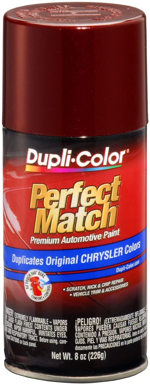 Dupli-Color BCC0413 Dark Garnet Red E7 Pearl Chrysler Perfect Match Automotive Paint-Aerosol, 8. Fluid_Ounces