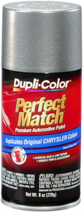 Dupli-Color BCC0417 Bright Platinum E7 Metallic Chrysler Perfect Match Automotive Paint-Aerosol, 8. Fluid_Ounces