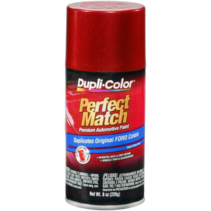 Dupli-Color BFM0317 Exact-Match Automotive Paint - Electric Currant Red Met(EG)- 8 oz. Aerosol
