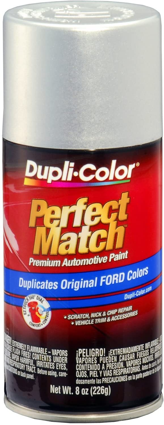 Dupli-Color BFM0341 Silver Frost Ford Exact-Match Automotive Paint - 8 oz. Aerosol