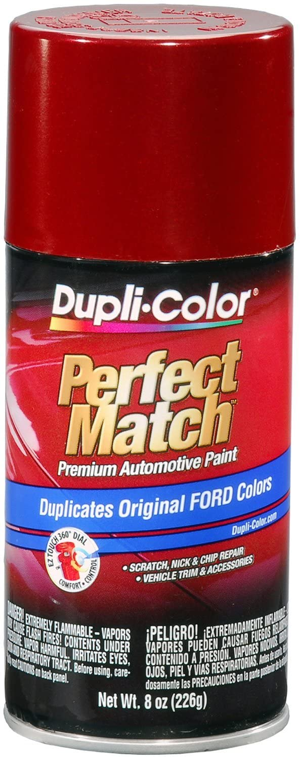 Dupli-Color BFM0344 Toreador Red Metallic Ford Exact-Match Automotive Paint - 8 oz. Aerosol
