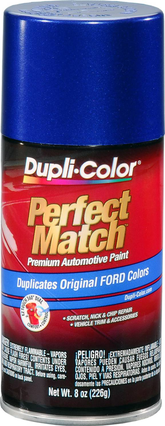 Dupli-Color EBFM03787 Sonic Blue Pearl Ford Exact-Match Automotive Paint - 8 oz. Aerosol