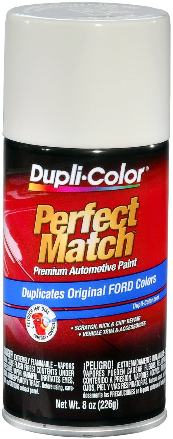 Dupli-Color BFM0384 Pure White Ford Exact-Match Automotive Paint - 8 oz. Aerosol