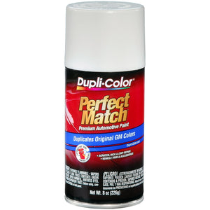 Dupli-Color EBGM04347 Olympic White General Motors Exact-Match Automotive Paint - 8 oz. Aerosol