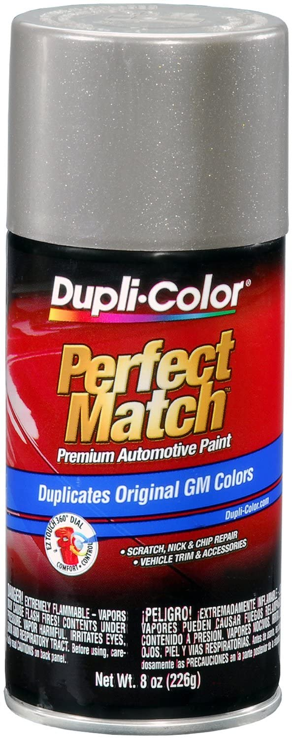 Dupli-Color BGM0490 Pewter Metallic General Motors Exact-Match Automotive Paint - 8 oz. Aerosol