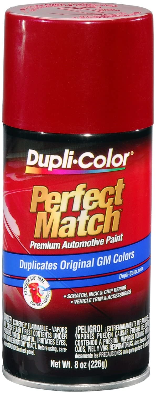 Dupli-Color BGM0537 Red Metallic Automotive Paint, 8. Fluid_Ounces