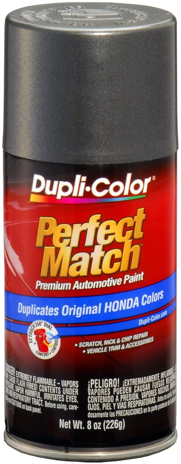 Dupli-Color BHA0928 Graphite Grey Metallic Honda Perfect Match Automotive Paint - 8 oz. Aerosol