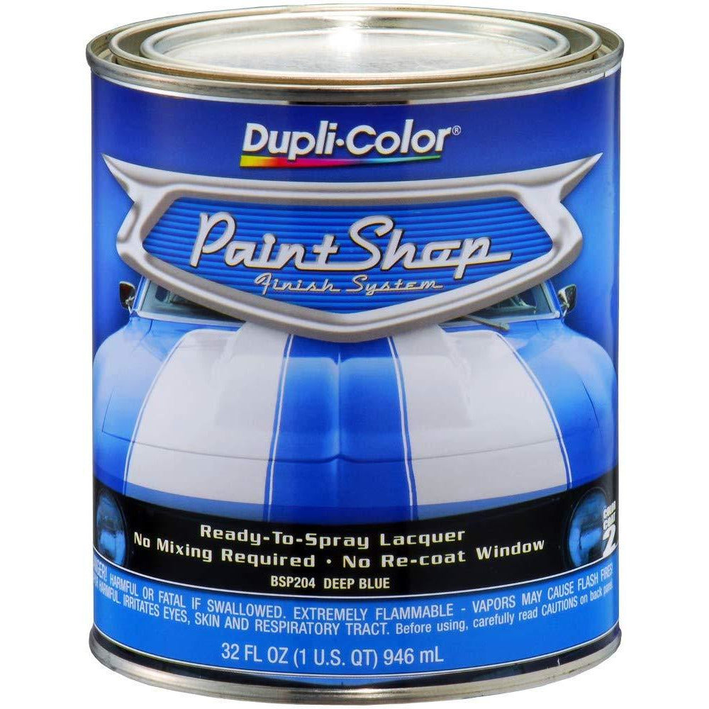 Dupli-Color BSP204 Deep Blue Metallic Paint Shop Finish System - 32 oz.
