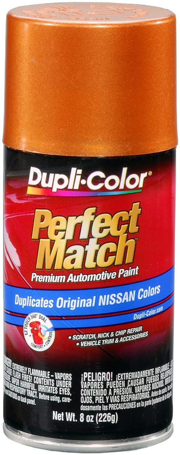Dupli-Color BNS0503 Orange Mist Metallic Nissan Perfect Match Automotive Paint-Aerosol, 8. Fluid_Ounces