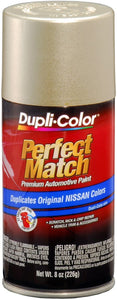 Dupli-Color BNS0593 Sunlit Sand E0 Nissan Perfect Match Automotive Paint-Aerosol - 8oz - Pack of 1