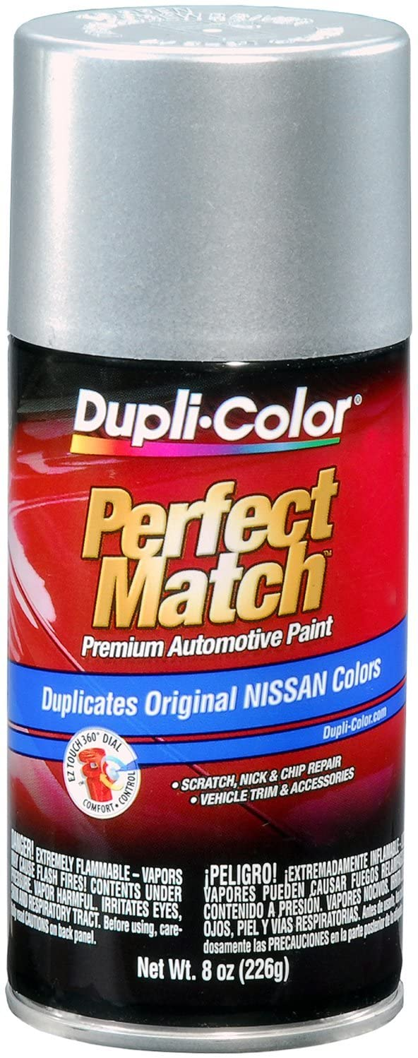 Dupli-Color BNS0595 Platinum Metallic Nissan Perfect Match Automotive Paint - 8 oz. Aerosol
