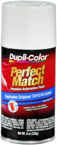 Dupli-Color BTY1556 Super White II Toyota Exact-Match Automotive Paint - 8 oz. Aerosol