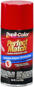 Dupli-Color BTY1560 Super Red II Toyota Exact-Match Automotive Paint - 8 oz. Aerosol