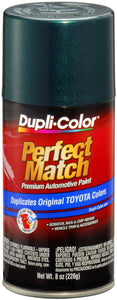 Dupli-Color EBTY15977 Classic Green Pearl Toyota Exact-Match Automotive Paint - 8 oz. Aerosol