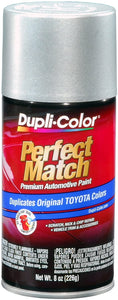 Dupli-Color BTY1602 Lunar Mist Silver Metallic Toyota Exact-Match Automotive Paint - 8 oz. Aerosol