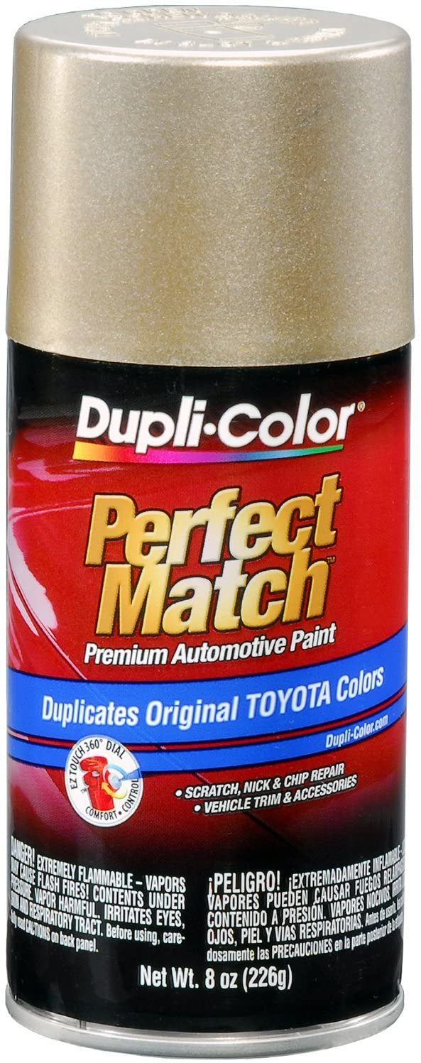 Dupli-Color EBTY16107 Desert Sand Mica Toyota Exact-Match Automotive Paint - 8 oz. Aerosol