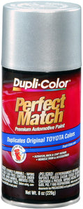 Dupli-Color BTY1616 Silver Streak Mica Toyota Exact-Match Automotive Paint - 8 oz. Aerosol