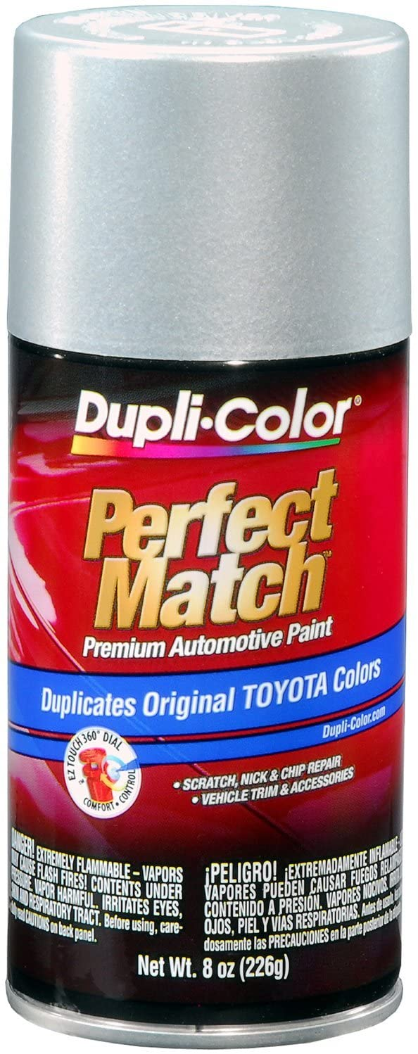 Dupli-Color BTY1617 Classic Silver Mica Toyota Exact-Match Automotive Paint-Aerosol, 8. Fluid_Ounces