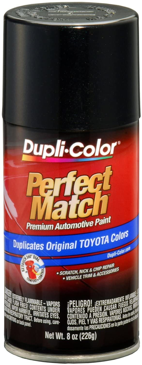 Dupli-Color BTY1622 Black Sand Pearl Toyota Exact-Match Automotive Paint - 8 oz. Aerosol