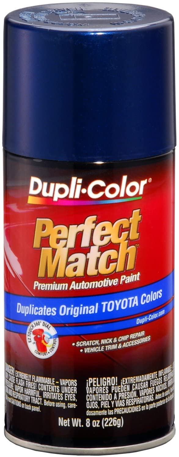 Dupli-Color EBTY16237 Dark Blue Pearl Toyota Exact-Match Automotive Paint - 8 oz. Aerosol