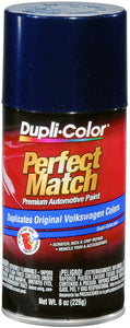 Dupli-Color BVW2043 Indigo Blue Pearl Volkswagen Perfect Match Automotive Paint - 8 oz. Aerosol