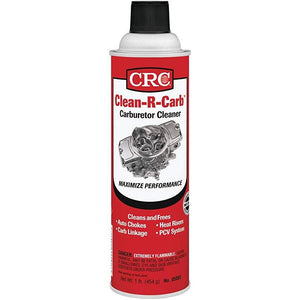 CRC 05081 Clean-R-Carb Carburetor Cleaner - 16 Wt Oz