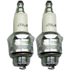 Champion J19LM-2pk Copper Plus Small Engine Spark Plug Stock # 861 (2 Pack)