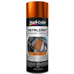 Dupli-Color MC205 Orange Metal Cast Anodized Color - 11 oz.