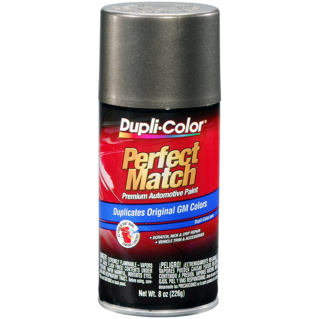Dupli-Color BGM0493 Dark Bronzemist Metallic General Motors Exact-Match Automotive Paint - 8 oz. Aerosol