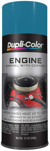 Dupli-Color DE1619 Ceramic Chrysler Green Engine Paint - 12 oz.
