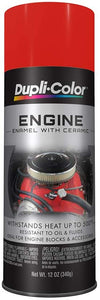 Dupli-Color DE1620 Ceramic Chevrolet Orange Engine Paint - 12 oz.
